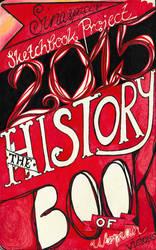 Moleskine XXVI - Sketchbook Project 2015
