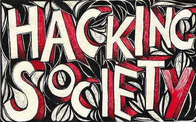 Moleskine XXIX - Hacking Society by simoneines
