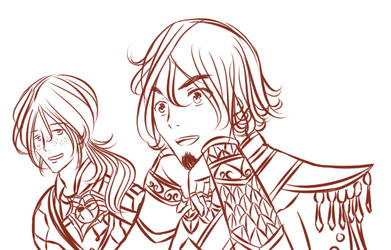 Anduin and Wrathion (Warcraft) by Aeodin