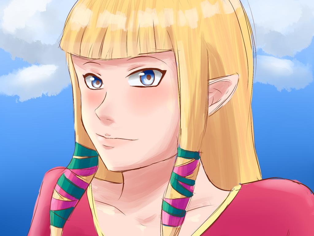 Zelda by goldensaphire