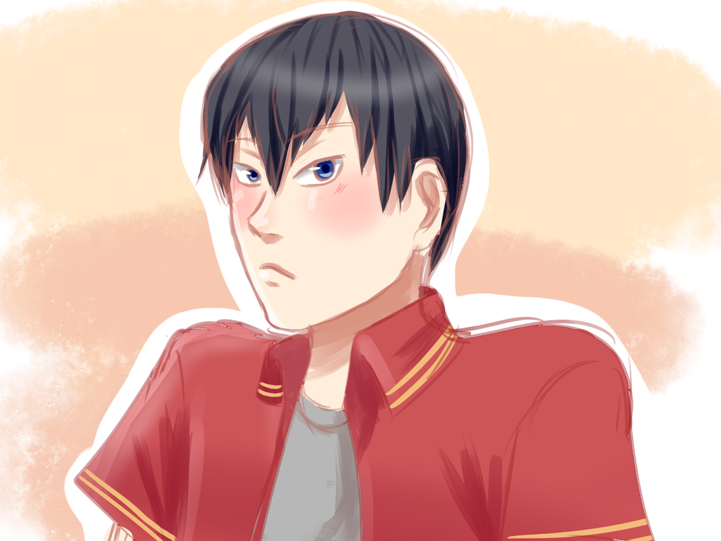 Tobio-chan by goldensaphire