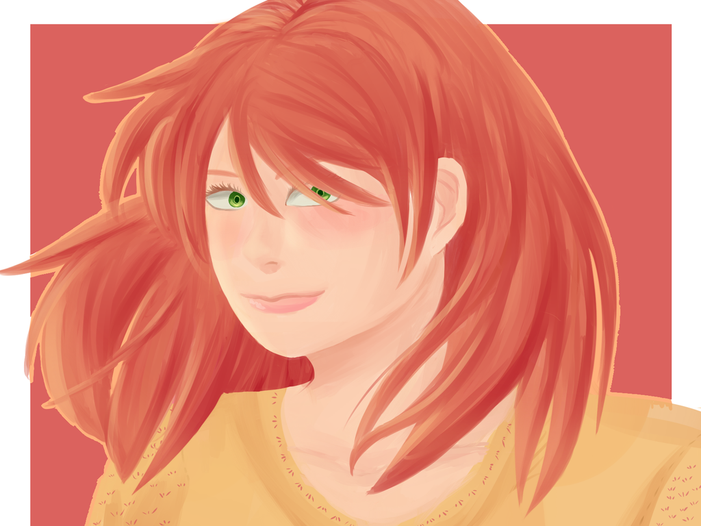 Red Hair by goldensaphire