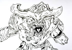 Cyberdemon-DOOM HELLSCREAM by The-Silver-Spartan