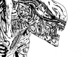 Xenomorph- Alien Series by The-Silver-Spartan