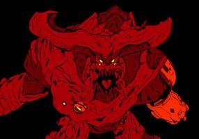 Cyberdemon Hellscream- Doom