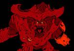 Cyberdemon Hellscream- Doom by The-Silver-Spartan