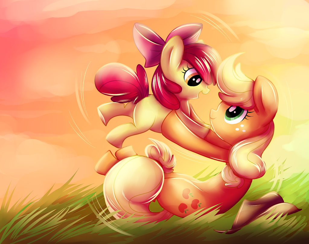 Apple Sisters by ssnugglepunk