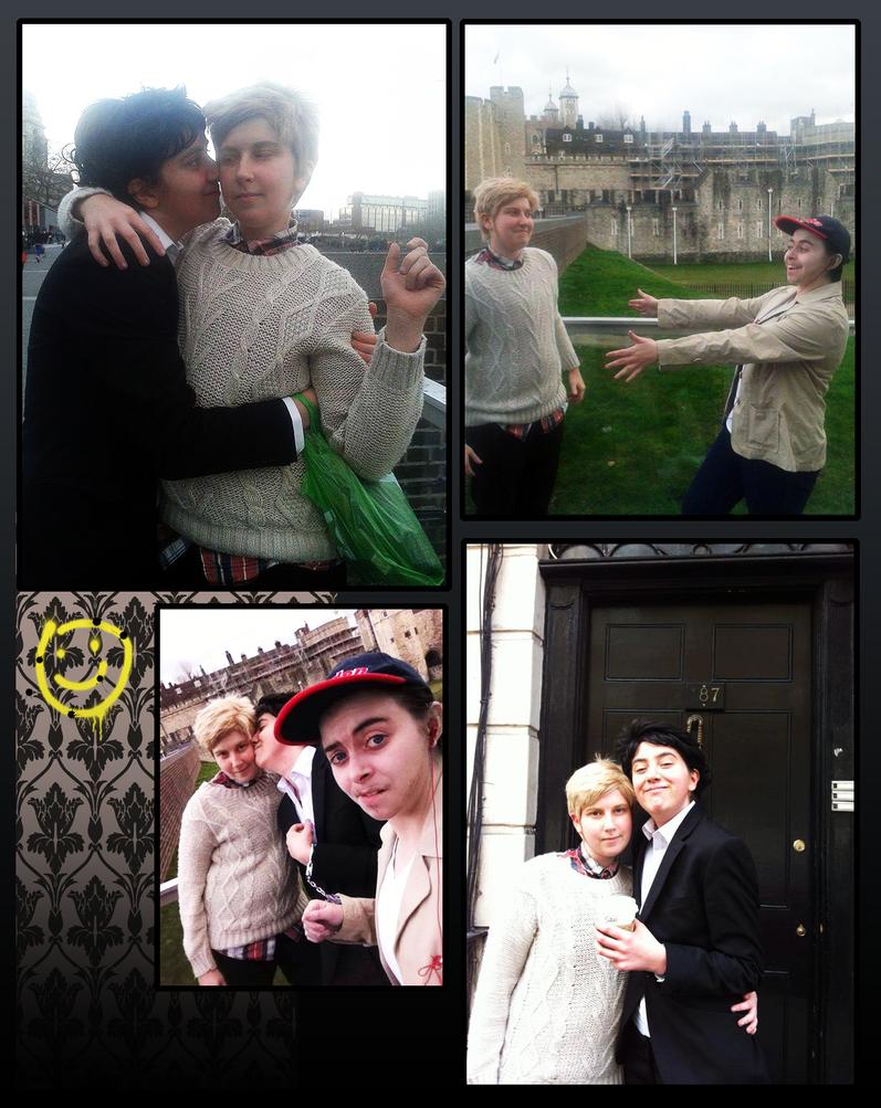 BBC Sherlock Cosplay: London by ssnugglepunk