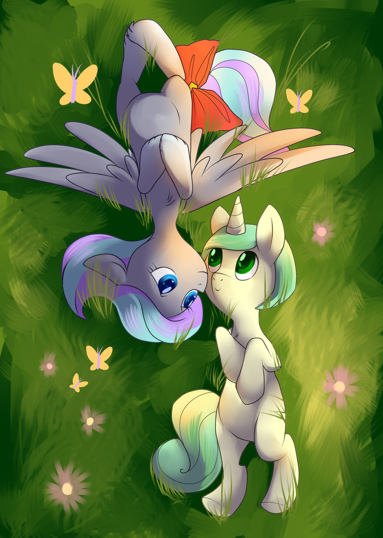 Silverstar and First Edition by ssnugglepunk