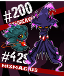 Misdreavus and Mismagius