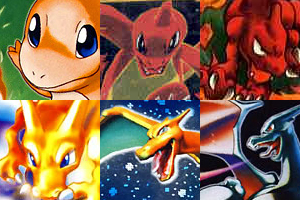 Charmander avatar collection by SilverLucario12