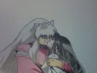 Inuyasha and Kikyo by Dook89