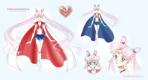 Neo Sailor Moon - Designs by Myusse