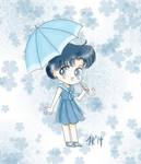 Chibi Ami - Sailor Moon Crystal