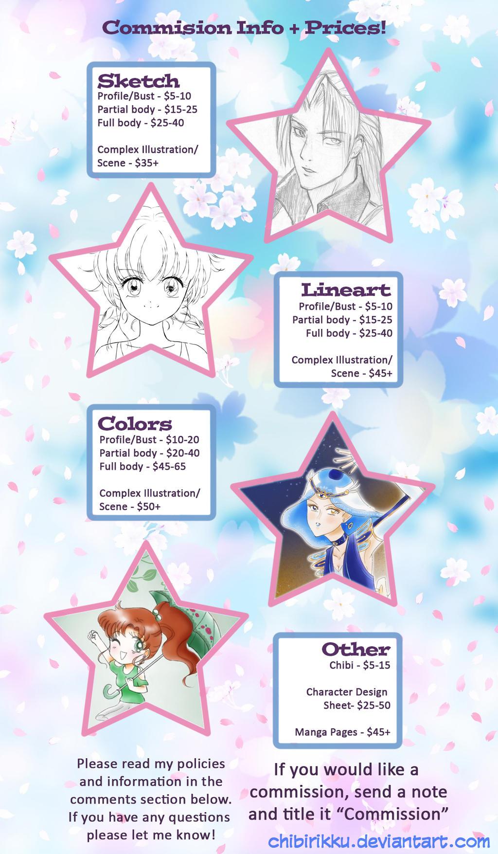Commission Information! by ChibiRikku