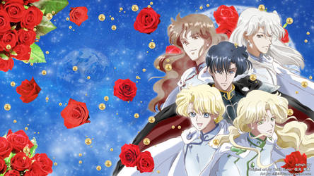 Sailor Moon Crystal - Shitennou =Cover Art Ver=