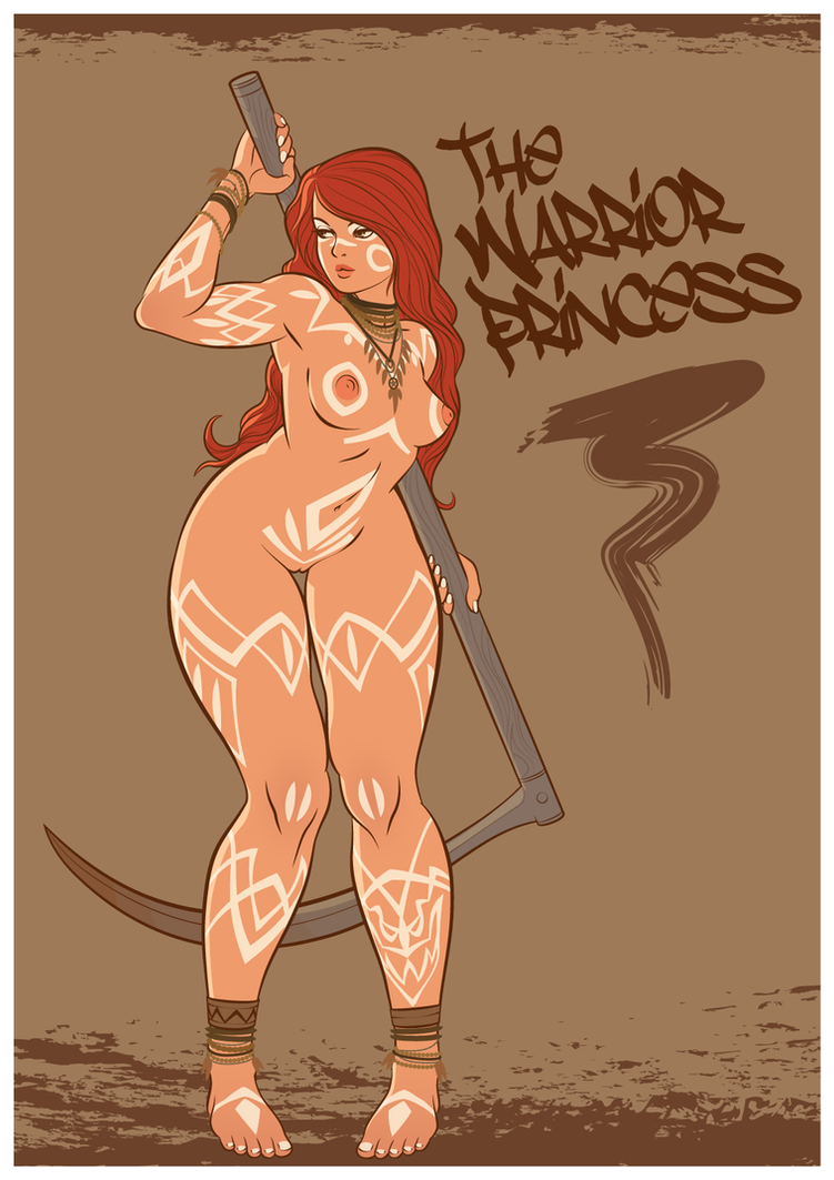 The Warrior Princess by weltjudentum