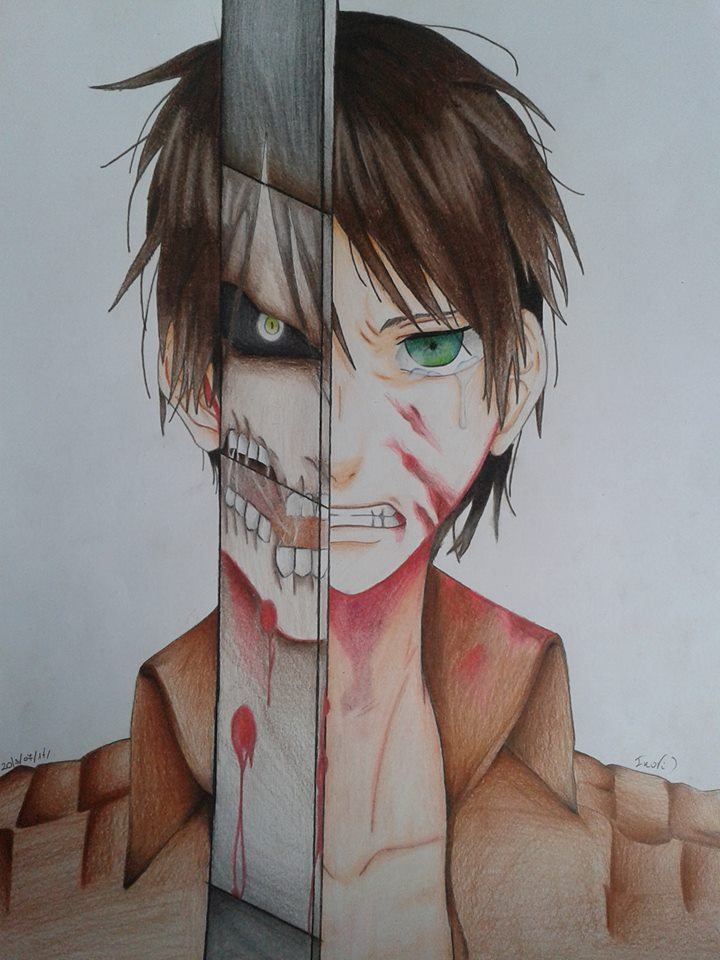 Eren Jeager by Exorcist95