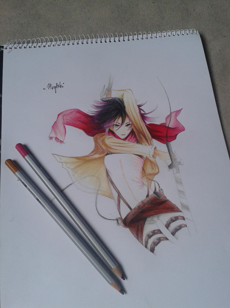 Mikasa Acherman fanart by Exorcist95