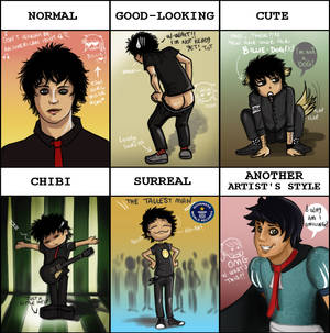 Meme - Billie Joe Green Day