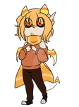 candy corn sweet demon adopt [closed]