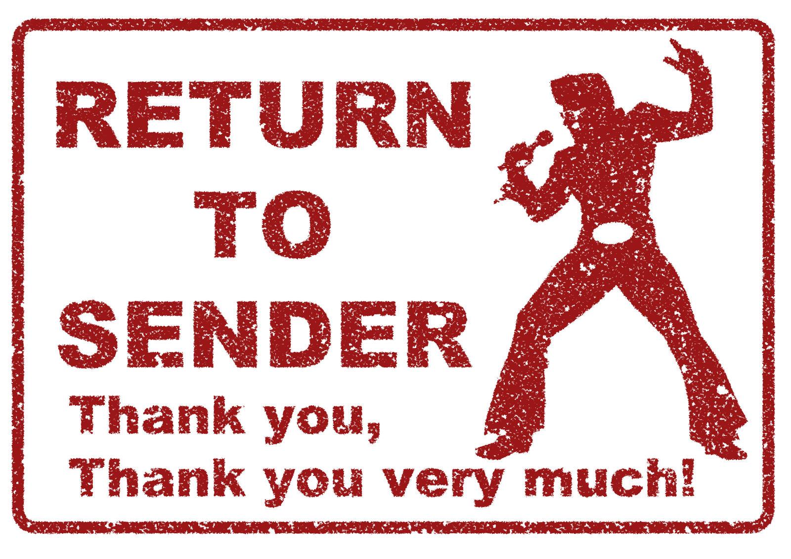 Return To Sender Novelty Stamp By Topher147 On DeviantArt