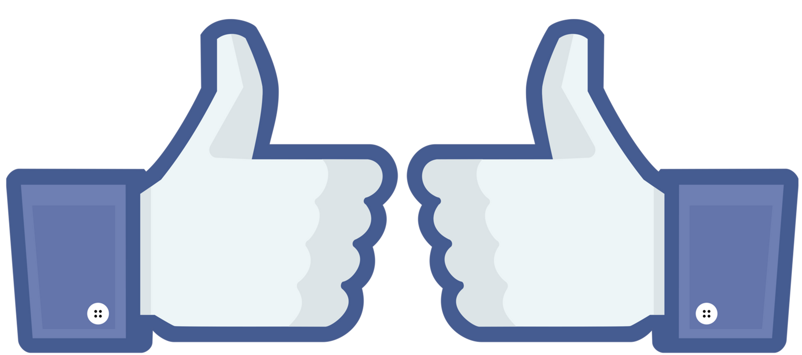 Facebook Double Thumbs Up by topher147 on DeviantArt  Facebook Thumbs Up Transparent Background