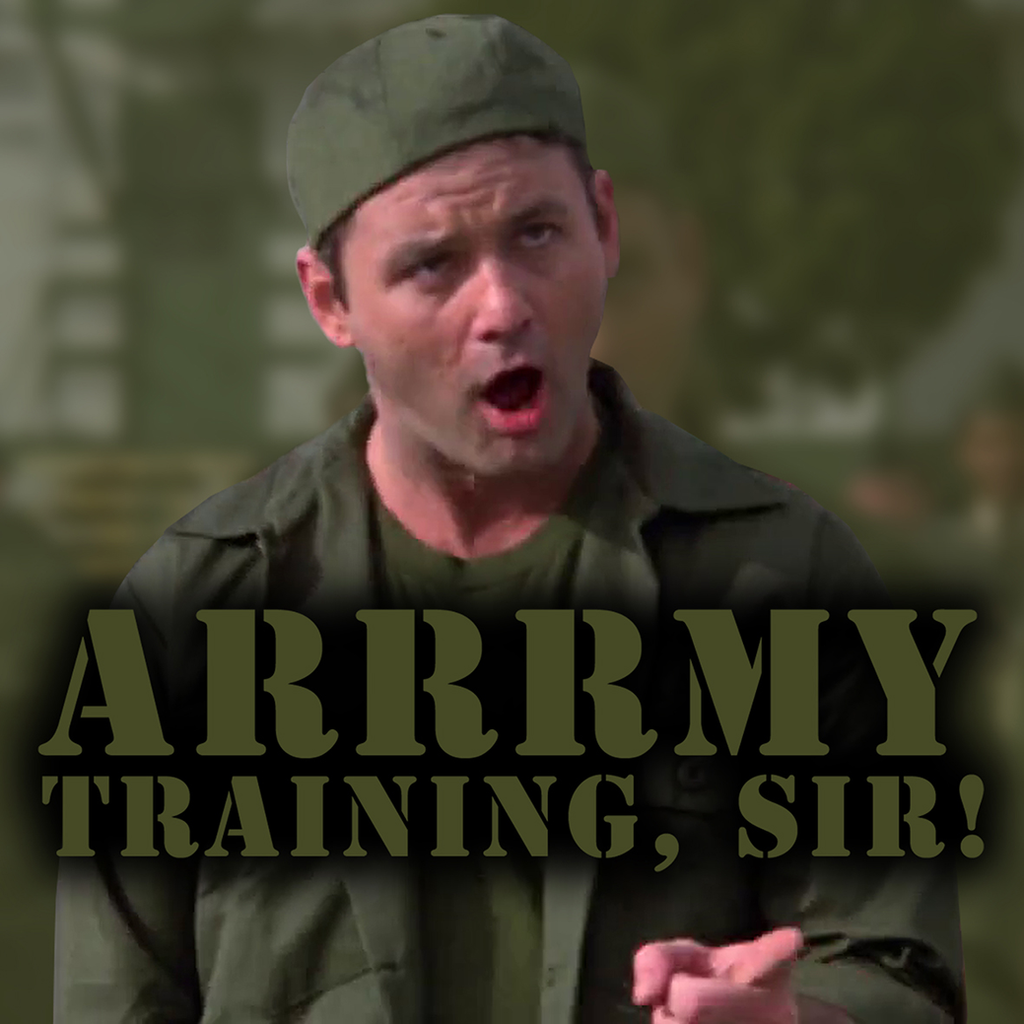 Bill Murray Army Training by topher147 on DeviantArt