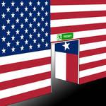 Texit US Flag