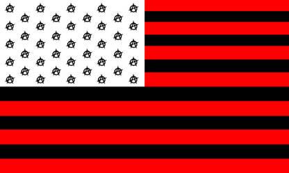 Ununited States of Anarchy (USA) Flag