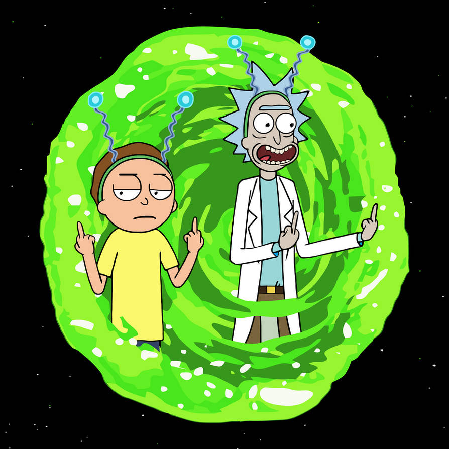 Rick And Morty Peace Among Worlds Portal By Topher147 On Deviantart