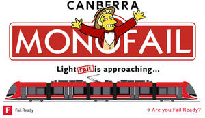 Canberra Metro Simpsons Monorail