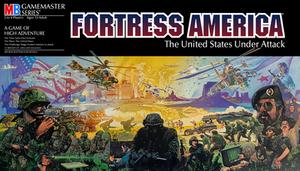 Fortress America Board Game Box Artwork