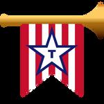 TRUMPit - Golden Trumpet Icon Concept