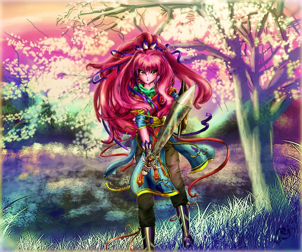 Sakura by Lilith-Helyanwe