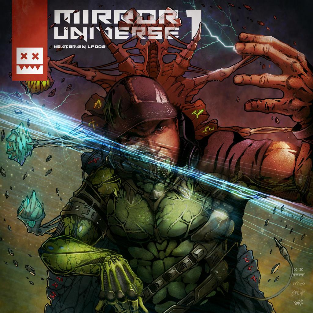 Eatbrain // Mirror Universe LP #1 by eatbrain