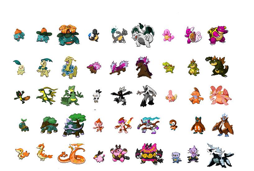 pokemon how to get starter shinies