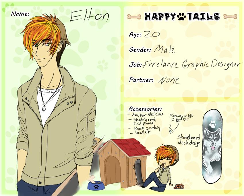 .:happytails:.Elton by itsmar