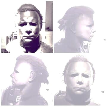 Lifesize Bust Michael Myers Halloween 2 The Shape by Do-more-withyourlife