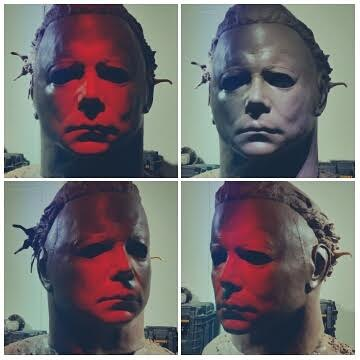 Lifesize Bust Michael Myers Halloween2 DaranHolt by Do-more-withyourlife