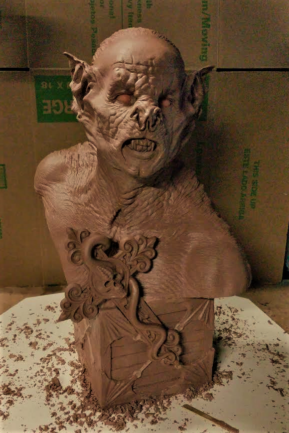 BRAM STOKERS DRACULA by Daran Holt THE BAT wip by Do-more-withyourlife