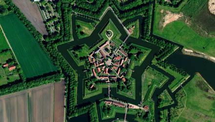 stronhold in Bourtange Netherlands