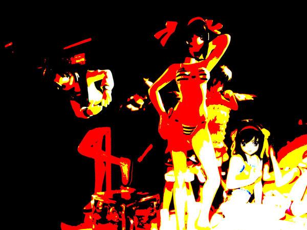 Suzumiya Haruhi 'Heat' by oxygenized
