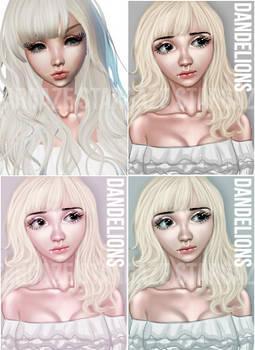 IMVU Edit/Re-Paint - Dandelions 2