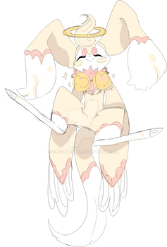 :CLOSED: An Angel Delight! :ADOPT: :Slantedfoxes: