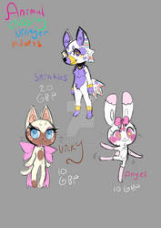 SlashyAshy Adopts: Animal Crossing :OPEN: