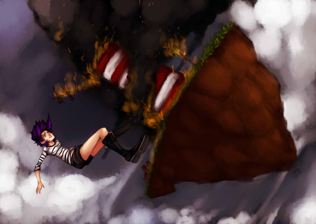 The Falling by blackkenzaki