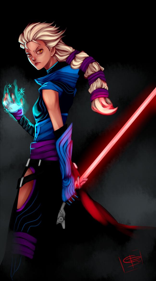 Darth Forza a.k.a Elsa by blackkenzaki