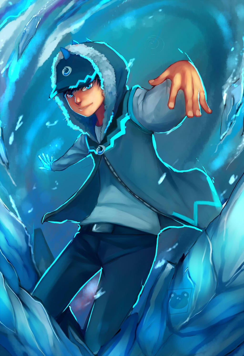Boboiboy Ice by blackkenzaki on DeviantArt