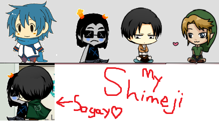 My shimeji- INCLUDING DL FOR LEVI by Mune-san